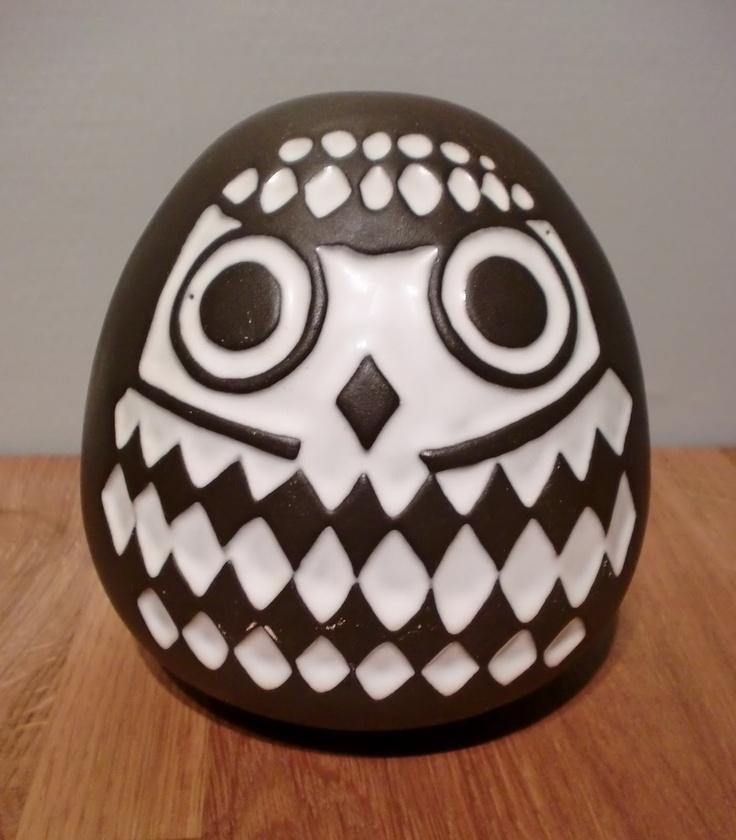 Owl/ piggy bank, Gabriel keramik