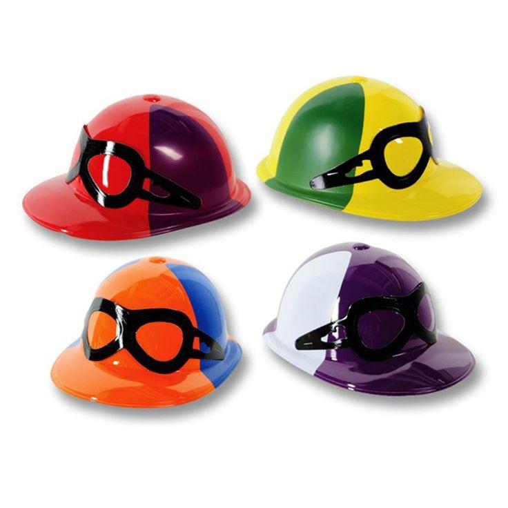 Horse Racing Jockey Helmets - 12 Pack
