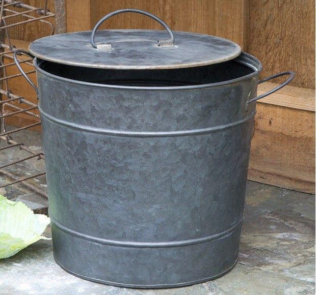 Kitchen Compost Bucket | Metal Compost Bucket | Compost Container