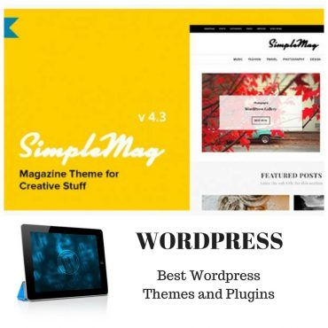 SimpleMag Magazine theme