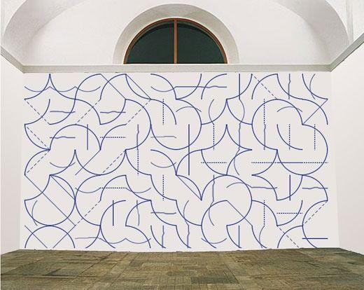 wowgreat: Sol LeWitt, Wall Drawing
