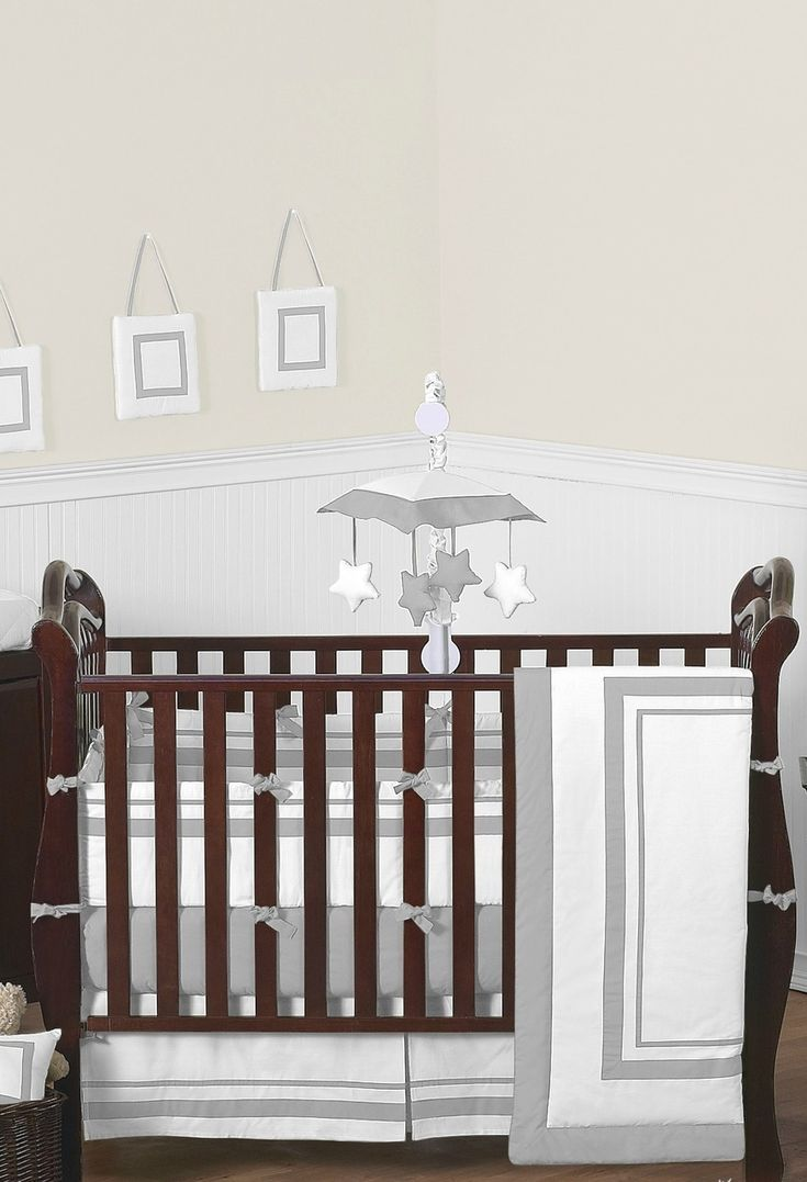 modern baby bedding trendy bedroom color modern baby bedding sets  - hotel white and gray modern baby bedding and pc crib set by sweet jojodesigns