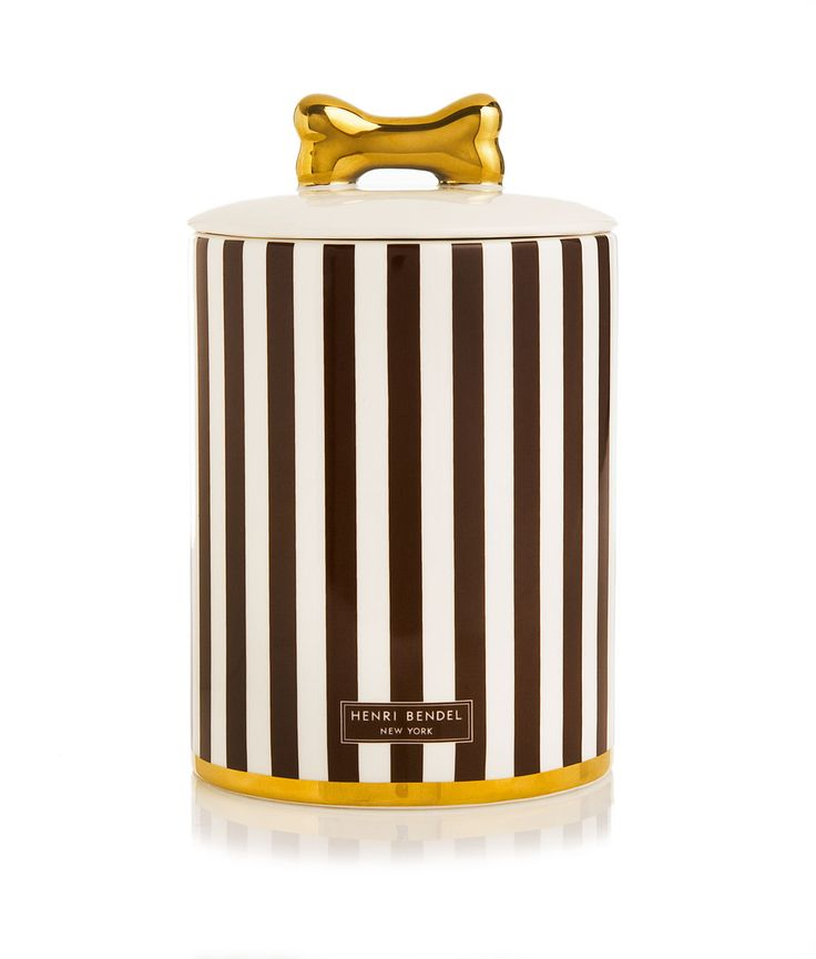 Henri Bendel Dog Treat Jar   Under $200   Henri Bendel
