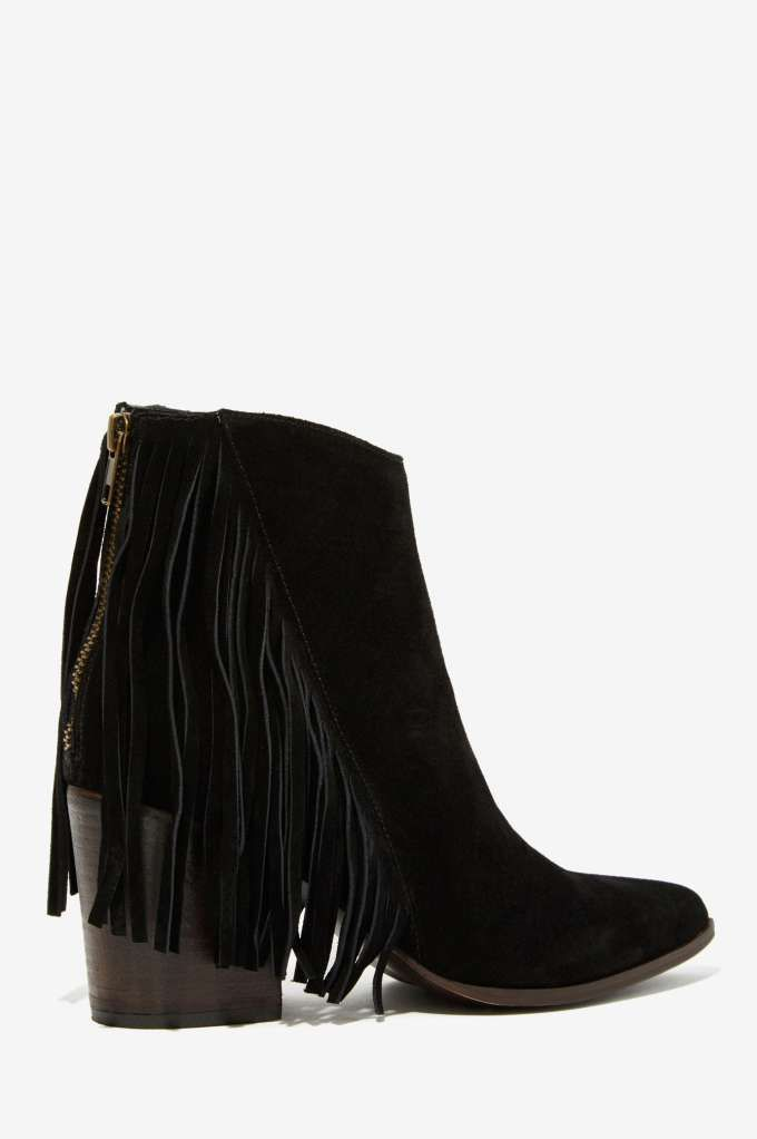 Steve Madden Country Suede Fringe Bootie - Steve Madden | Shoes | Heels |  Newly Added