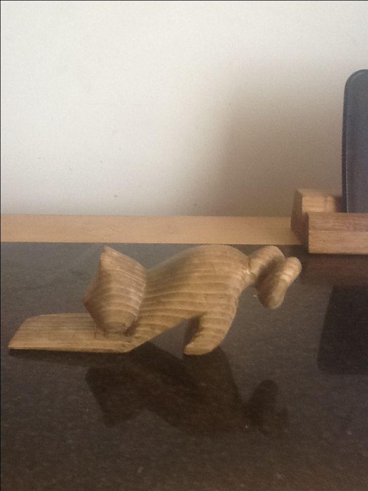 6th creation, cat doorstop.