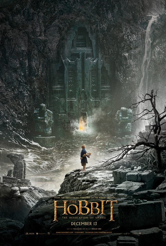 The Hobbit: Desolation of Smaug Official Movie Poster /// AAAAAAAAAAAAAAAAAAAHHHHHHHHHHHHHHHHHHHHHHHHHHH