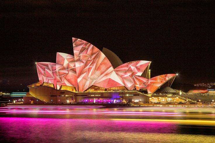 Sydney Opera House Vivid light show 2014