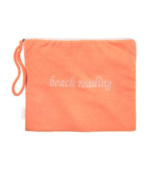 The Best Gifts for Mom  Terry Beach Reader  This punchy terry cloth pouch, fully lined with water-repellant polyester, will protect her reading material while lounging poolside. Available in nine colors.     $25, echodesign.com.: Beach Pool, Beach Reading, Beach Mother S, Beach Book, At The Beach, Beach Reader, Beach Vacation