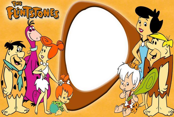 Flintstones and Rubbles Photo Frame