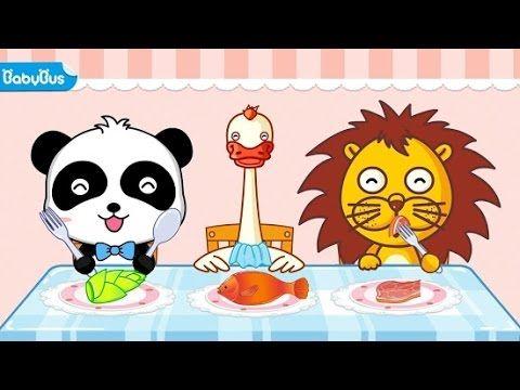 BABY PANDA CHEF ☆ COOKING ☆ MAKING JUICE ☆ GAME BABY BUS