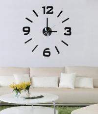 Originální samolepící hodiny s výraznými černými číslicemi, které si sami nalepíte na plochu podle svých představ a utvoříte tak nevšední a moderní interiér. Hodinový strojek lze na stěnu upevnit taktéž pomocí samolepící fólie či zavěsit na háček. Hodiny jsou nejen praktickým, ale především designovým doplňkem Vašeho interiéru.