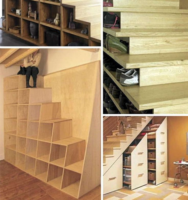60 Unbelievable Under Stairs Storage Space Solutions: Basement Exit Options