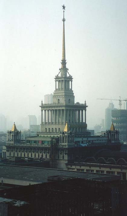 New York Architecture Images- Stalinist Architecture Its apparently Shanghai. Images for 'city as forest'
