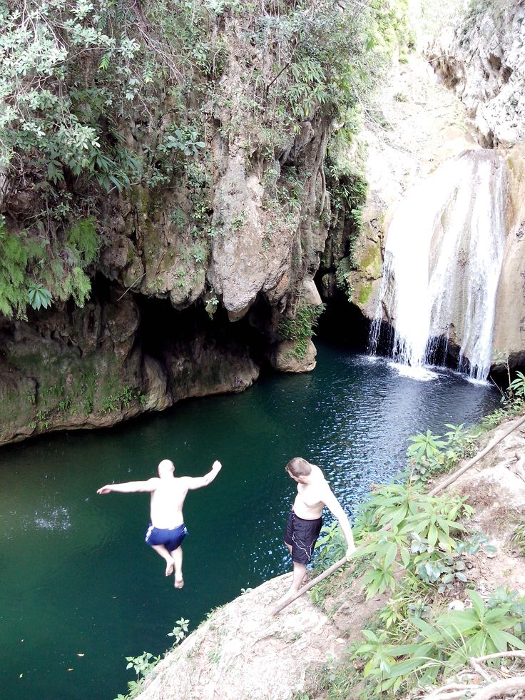 """Natural Park """"El Cubano"""", in Trinidad, a site for  lovers of nature & ecology where iu can walk across suspension bridges over rivers and streams and also spent a good time swimming in natural pools and waterfalls goo.gl/S9NplT"""