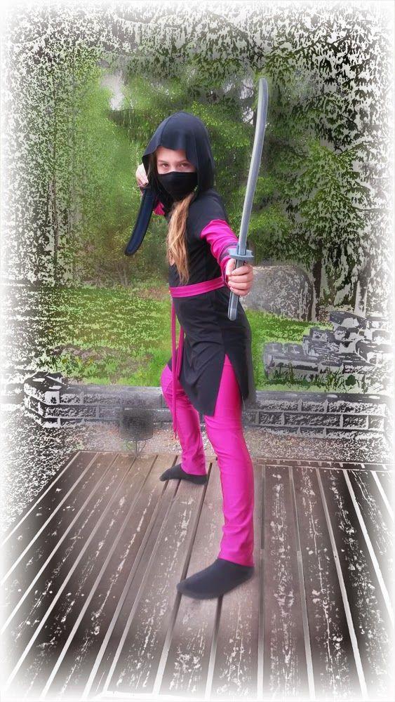 Teen mitä vaan: Pikkuinen ninja / Ninja costume