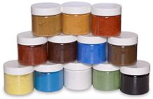 "Earth Pigments website: ""Our pigments are environmentally safe and non-toxic. Use them in fine art, crafts, home decorating and more"" Includes various paint recipes, instructions & videos"