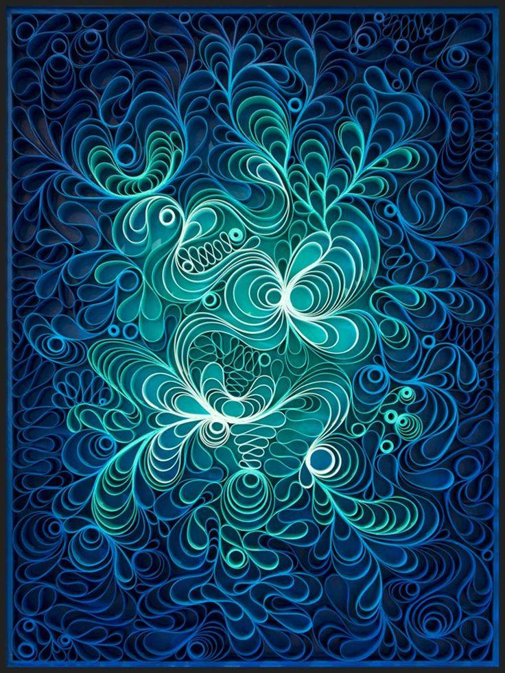 Une sélection des créations en paper art deStephen Stum etJason Hallman, aka Stallman, un duo d'artistes américains qui imagine des compositionsmagnifi