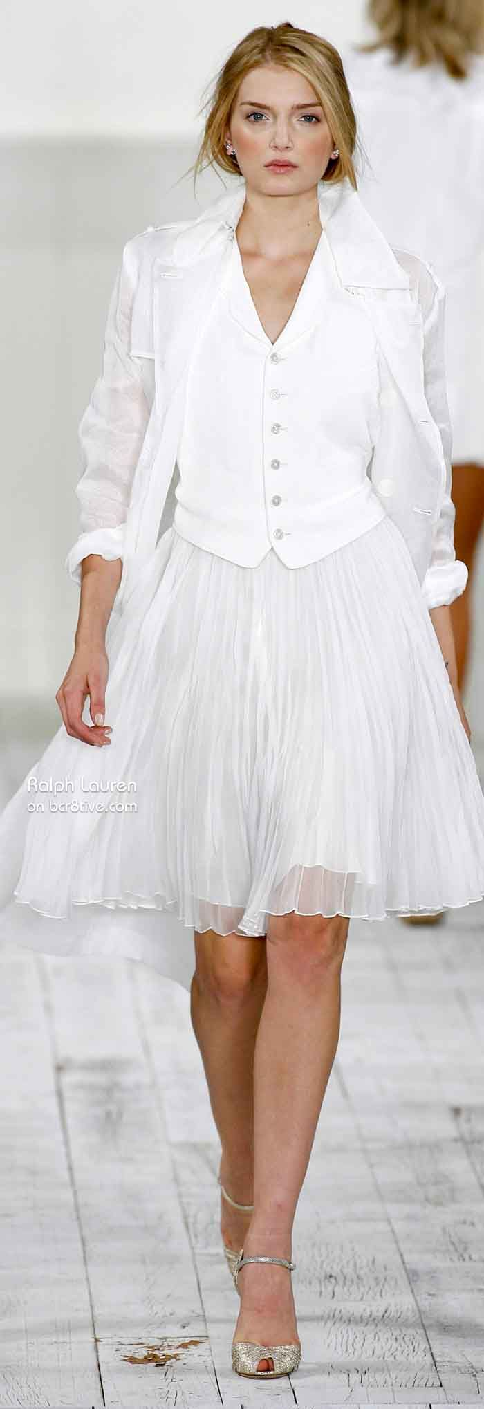 Ralph Lauren Spring Summer 2010  RTW️PM (That's not my style, but it's pretty).