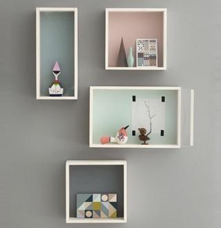 A Ferm Living wall storage box!