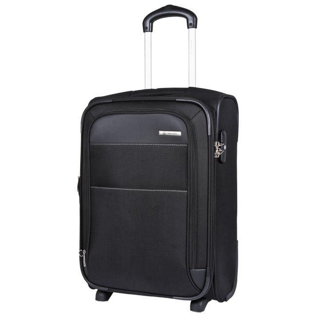 Duża Materiałowa Walizka CARLTON - Expandable Trolley Case 55 Black 061J35501 Czarny