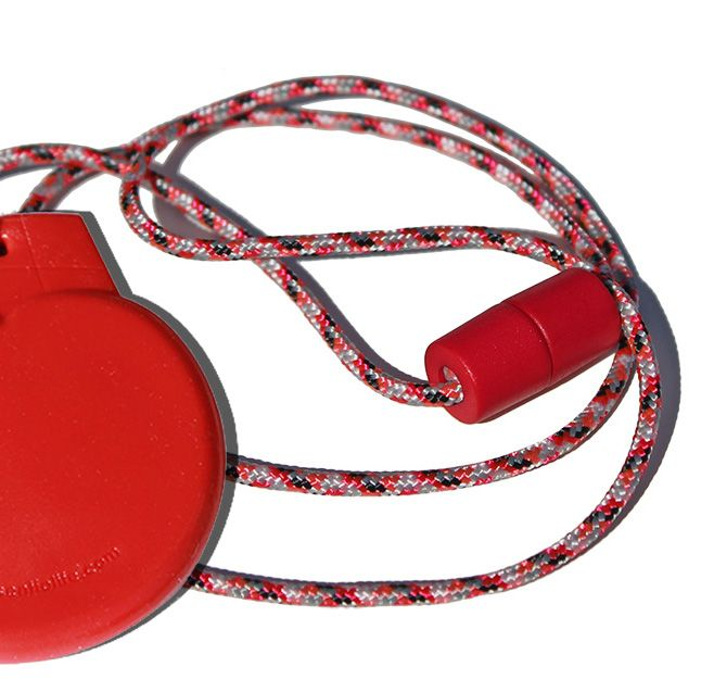 Tougher-than-Silicone SentioCHEWS Red Ice Cream. KidCompanions Chewelry and SentioCHEWS support children with sensory challenges discreetly and fashionably! BPA, phthalates, lead and latex free and made for children-teens. Tougher than most silicone chews.