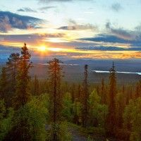 Rokua Geopark, consisting of Rokua, Lake Oulujärvi and Oulujoki Valley, is the first Finnish area that has been accepted as part of UNESCO's Geopark Network. Rokua Geopark is also (...)