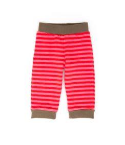 Штаны для малышей в полоску розовые LGR