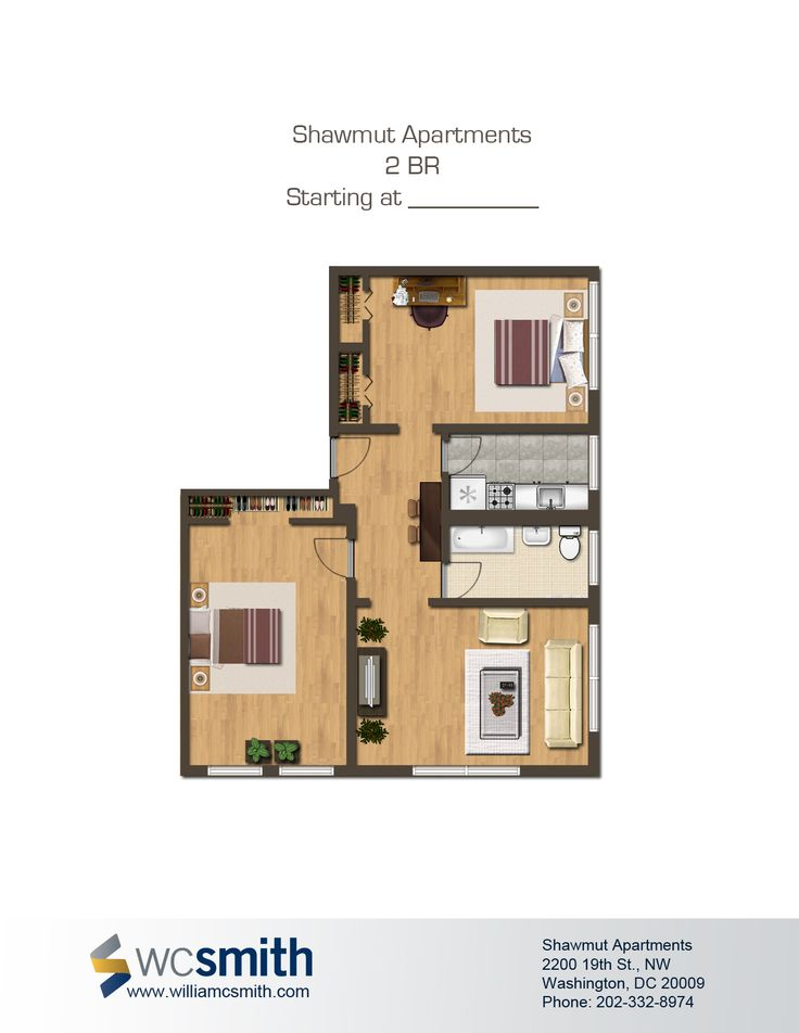 2 Bedroom Apartments For Rent In Dc Captivating 17 Best The Shawmut Images On Pinterest  Apartments Flats And Design Inspiration