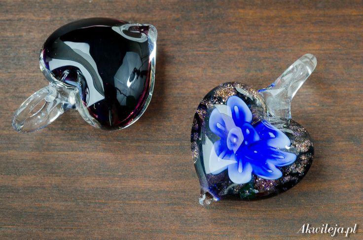 glass pendant heart