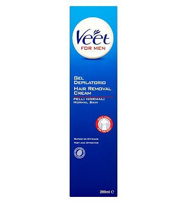 Veet for Men Hair Removal Cream 200ml 10046411 28 Advantage card points. Veet For Men Hair Removal Cream is a quick and effective way to remove body hair leaving your skin feeling smoother for up to twice as long as shaving. FREE Delivery on order http://www.MightGet.com/february-2017-1/veet-for-men-hair-removal-cream-200ml-10046411.asp
