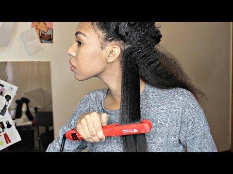 Flat ironing Natural Hair fail - http://naturalhaircaretoday.com/natural-hair-care-today/natural-hair/flat-ironing-natural-hair-fail/