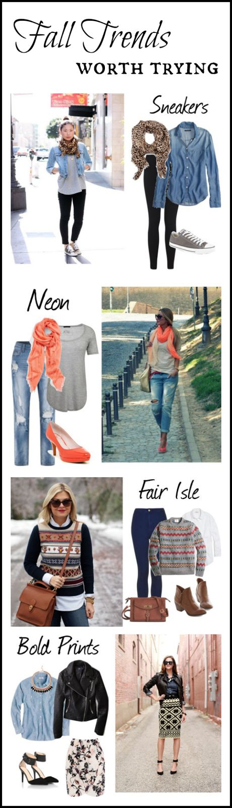 My New Favorite Outfit: Fall Trends Worth Trying