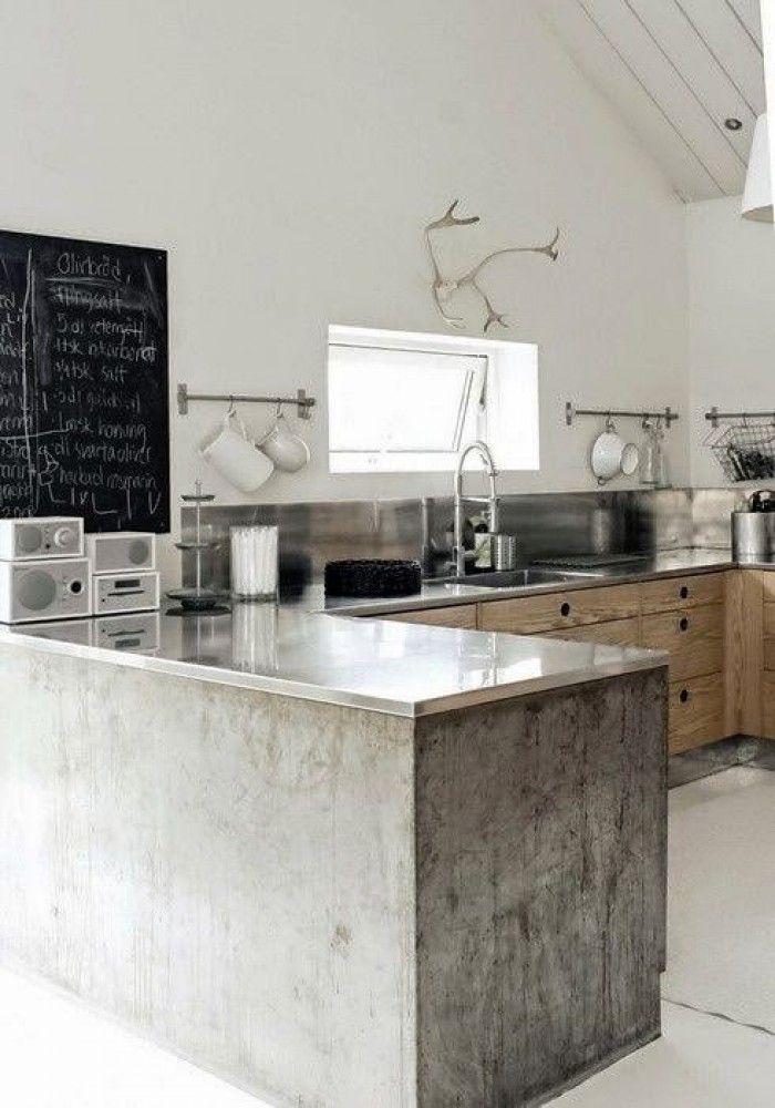 Industriële inrichting- scandinavisch- naturel - wit-grijs - zwart - rust- puur- woonkamer- industrieel interieur