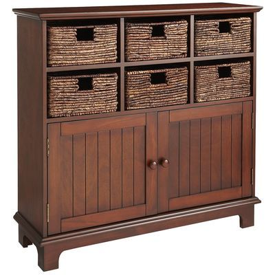 Holtom Storage Cabinet Chestnut Brown Home Pinterest