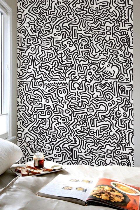 Keith Haring wall decal