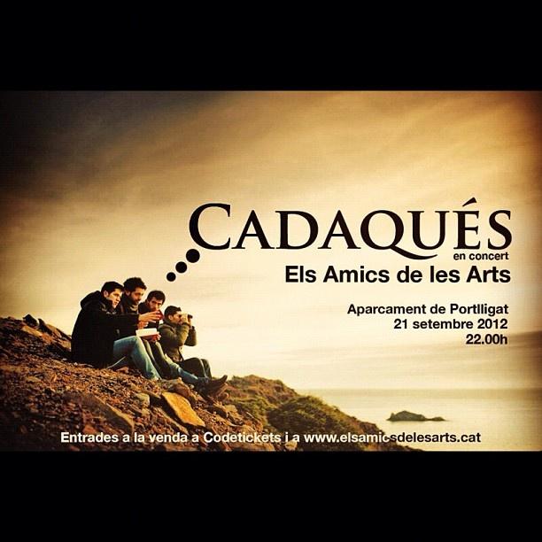 Els Amics de les Arts en concert s Cadaqués. 21/9/2012 http://www.codetickets.com/home/ficha-evento.php?id=20074
