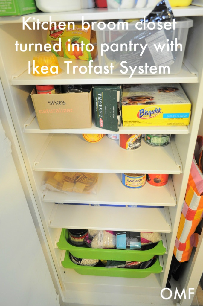 Kitchen Broom Closet Turned Into A Pantry Products I