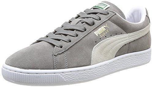 Oferta: 80€ Dto: -45%. Comprar Ofertas de Puma Suede Classic Plus Zapatillas de Cuero, Unisex, Gris (Grey/White 66), 42 EU (8 UK) barato. ¡Mira las ofertas!