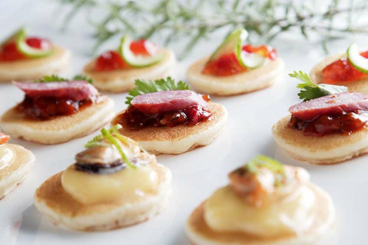 Blini topping ideas order shirley mitchel blog for Canape toppings