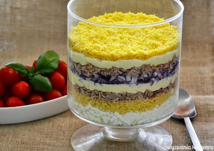 wyzwania kuchenne: Sałatka kijowska