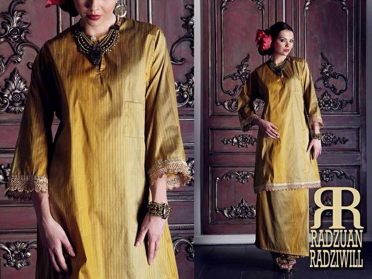 Kurung Pahang by Radzuan Radziwill  #malaysia #culture #art #beauty #bajukurung #klasik #women'sfashion