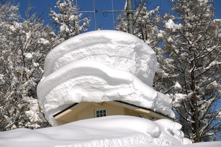 Febrero de 2012, en Nagano, Nozawa Onsen. Japón