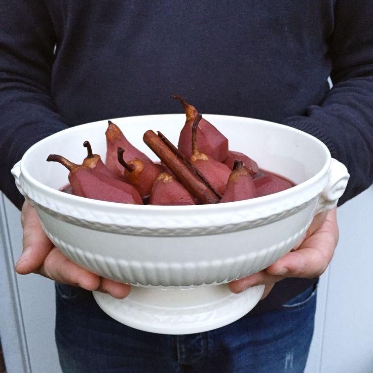 Zelf stoofpeertjes maken - recept www.madebyellen.com