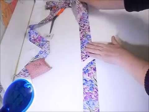 Elizabeth De Abreu - Como hacer sesgo (Parte 1) - YouTube