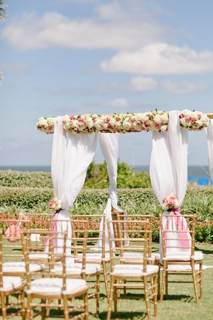 Elegant Outdoor Florida Ceremony | photography by http://www.brookeimages.com/