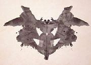 Uso in psicologia: il test di Rorschach /Use in Psicology :Rorschach test.
