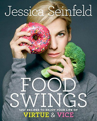 This is the cover of Jerry Seinfeld's wife Jessica Seinfeld's cookbook. Really? Does this sign have to be on a cookbook? Apparently it does.