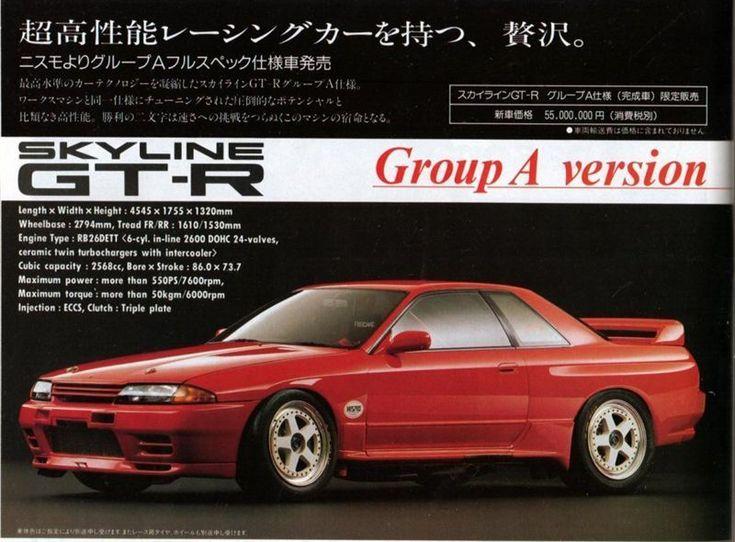 Nissan Nismo Skyline GT-R R32 Group A ver.