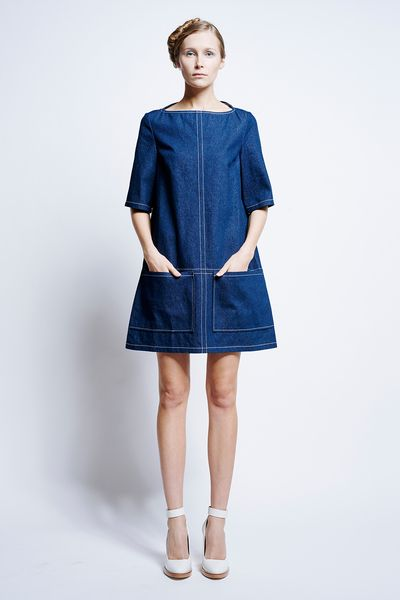 Sokol Panel Dress - Dresses | Karen Walker