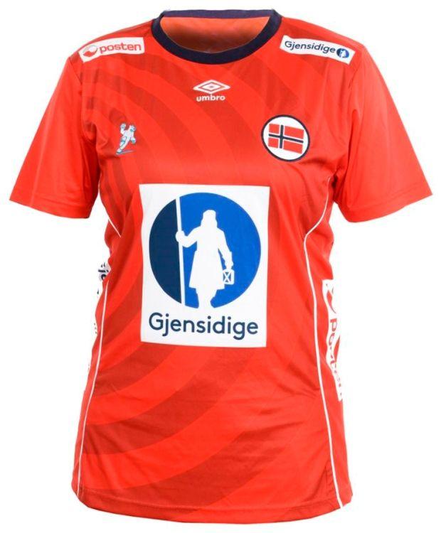 Umbro NHF Offisielle Tee Norges offisielle landslagstrøye i håndball for damer. Perfekt enten du spiller selv - eller som supporter på landskamp!  Landslagstrøye er laget i 100 % polyester.